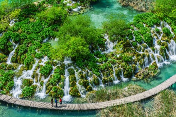 Image result for Plitvice Lakes National Park 600 x 400