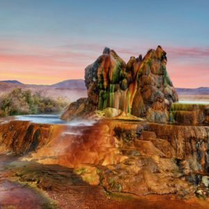 Fly Gyser Nevada Wallpaper