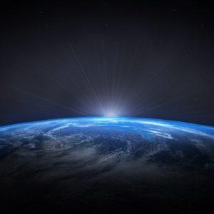 Planet Earth RisingSun Wallpaper