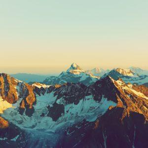 Alpine Mountain Landscape Wallpaper