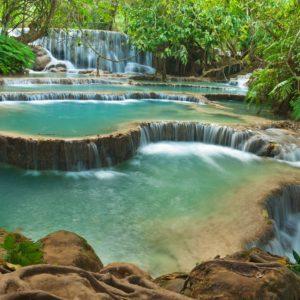 Kuang Si Waterfall Wallpaper