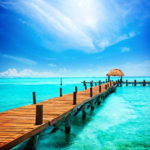Tropical Resort Sea Wallpaper