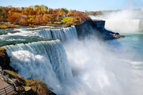 American Niagara Falls Wallpaper Na8383