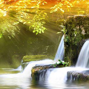 Autumn Falls theme Waterfalls